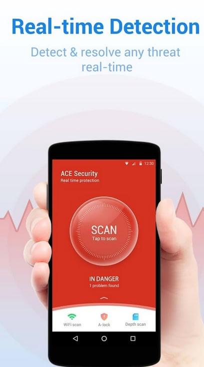 Ace Security - Antivirus Applock