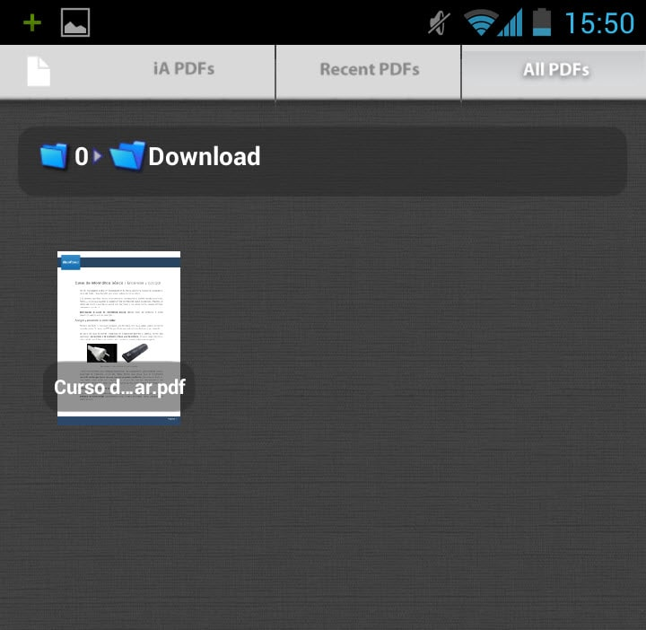 Aplicaci n m vil de Acrobat lector PDF para iPad iPhone Android