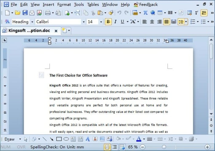 WPS Office 2016 Business