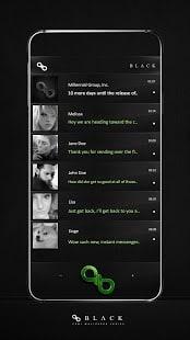 Diseño App Mensajero