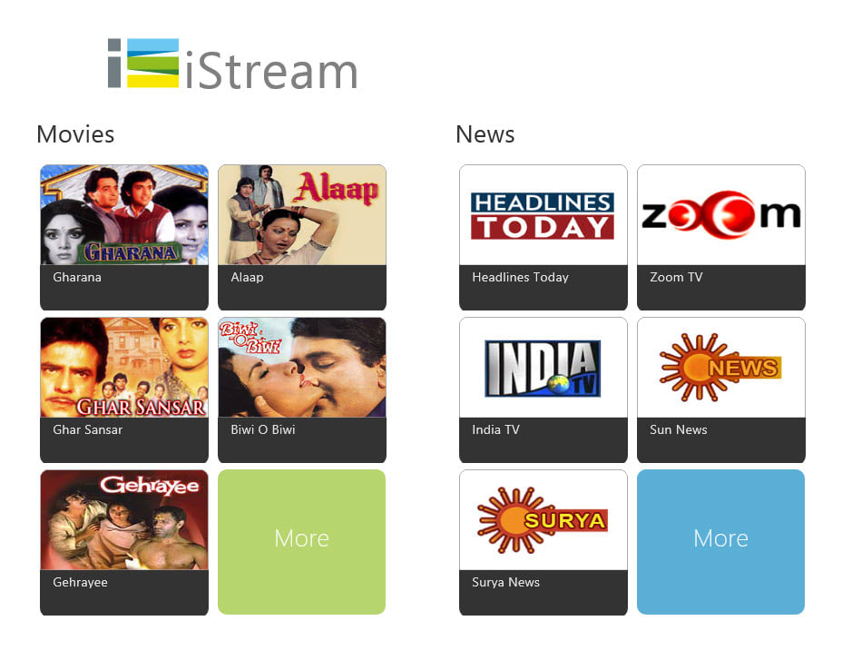 iStream for Windows 10