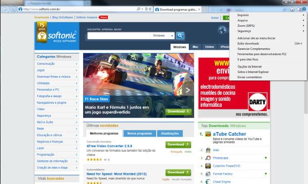 Internet Explorer 10 para Windows 7