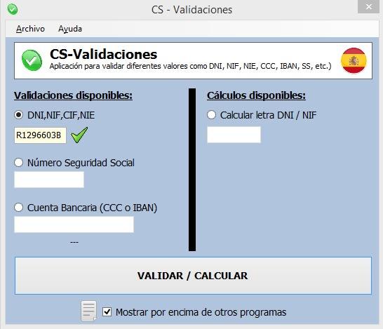 CS-Validaciones