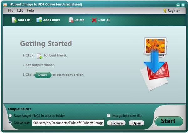 iPubsoft Image to PDF Converter
