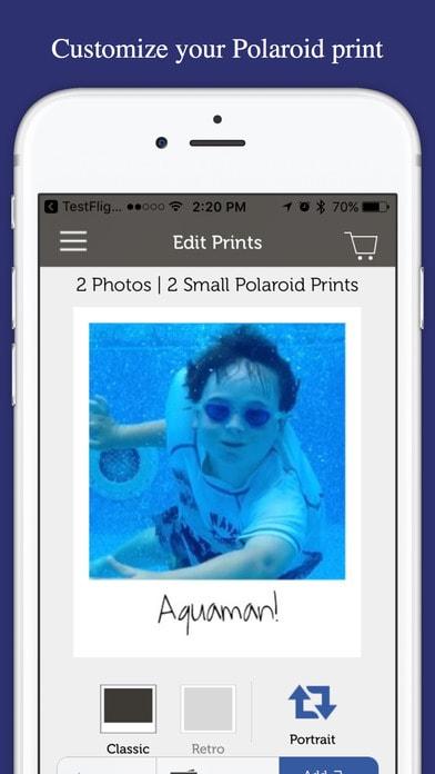 Polaroid Print Store