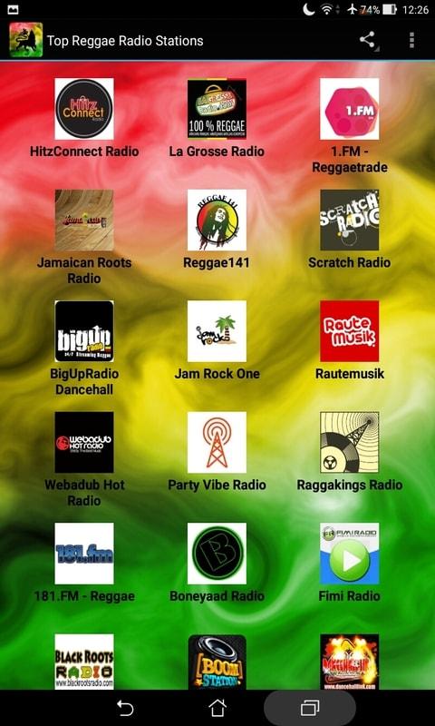 Top Reggae Radio Stations