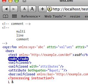 XML View Plugin