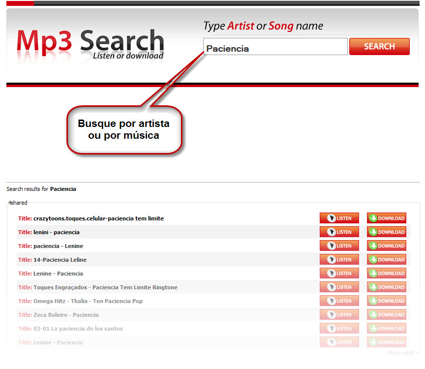 Mp3 Search Online