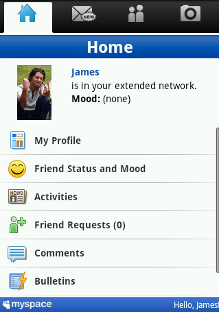 MySpace Mobile