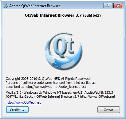 QtWeb Internet Browser