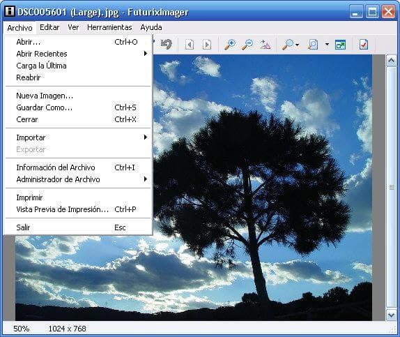 FuturixImager Spanish Localization