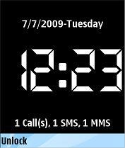 Key Lock Clock