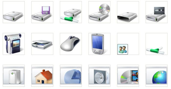 Windows 7 PDC Icons