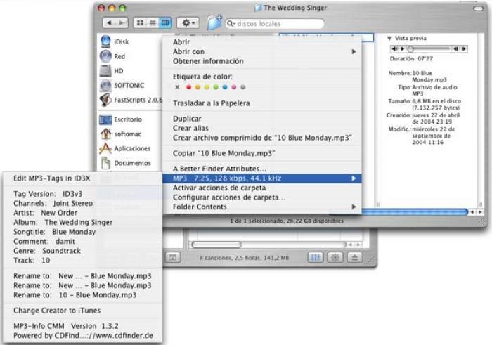 MP3-Info CMM