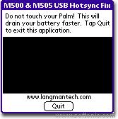 USB Sync Fixer