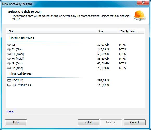 NTFS Data Recovery