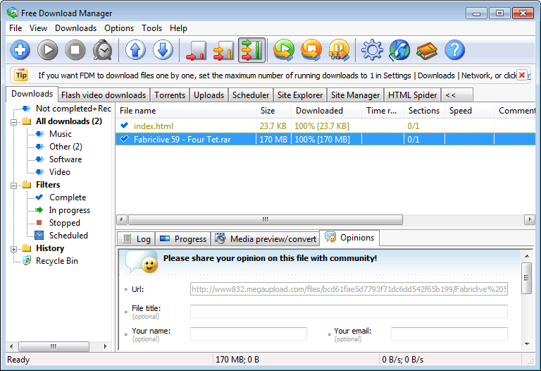 free download manager download