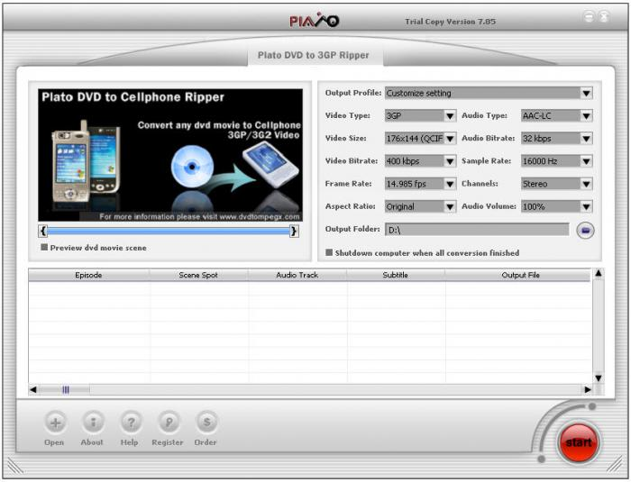 Plato Dvd To Ipod Converter - iDVDrip DVD to iPod ...