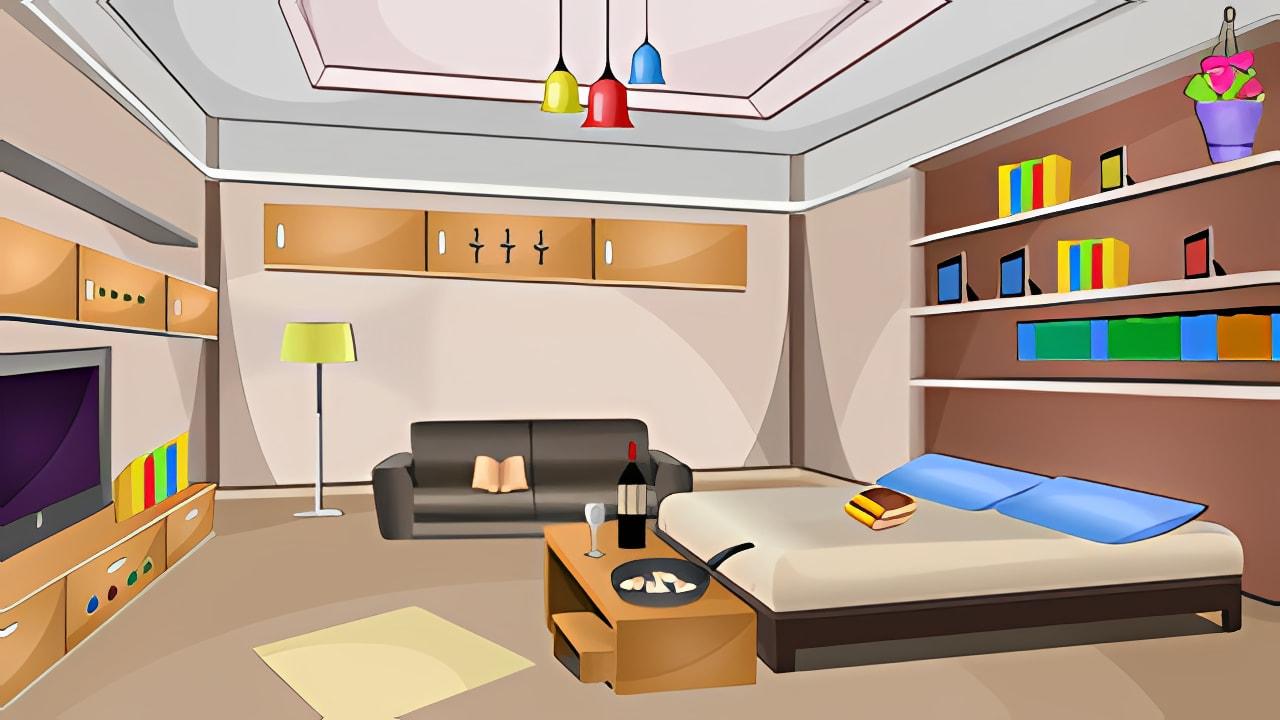 672 Modren Guest House Escape