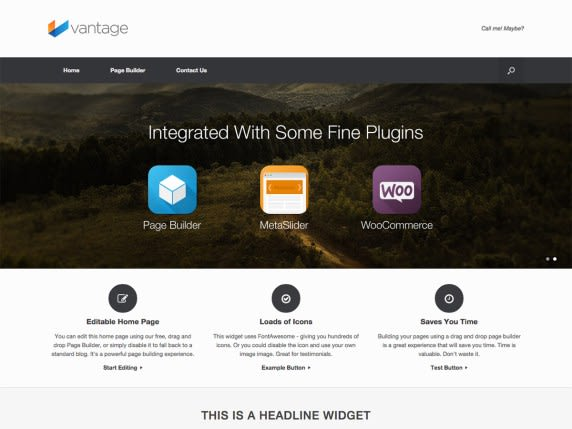 Vantage - Theme for Wordpress
