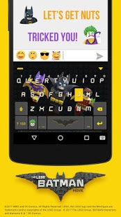LEGO Batman Kika KeyboardTheme