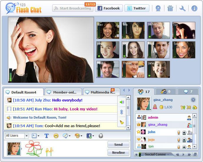 123 Flash Chat Software Mac