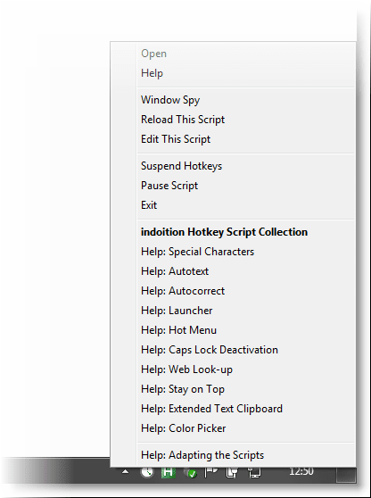 hotkey script collection