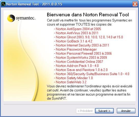 Norton Removal Tool