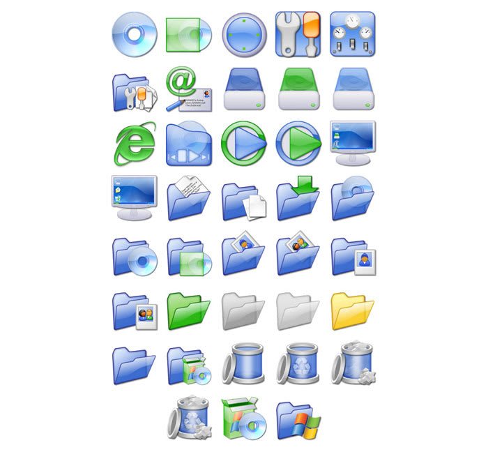 XP iCandy 1 Icons