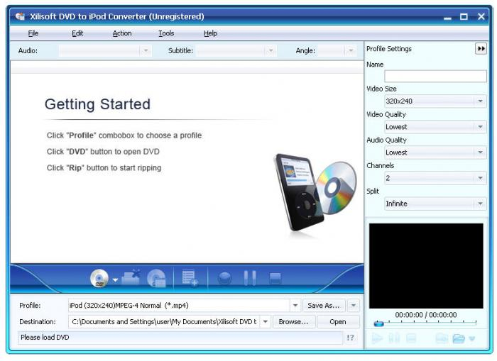 Xilisoft DVD to iPod Suite