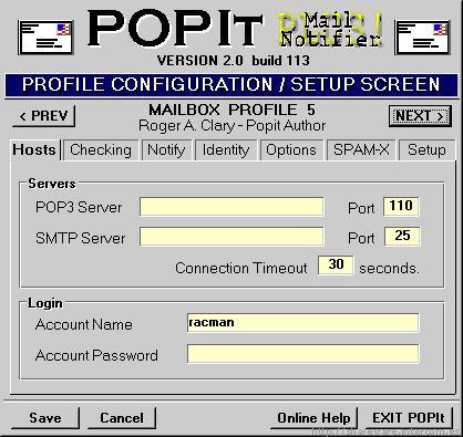 POPIt Mail Notifier PLUS