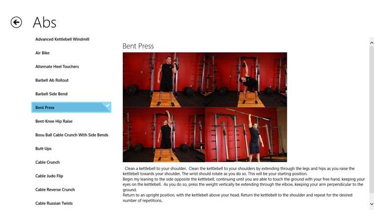 Gym Guide for Windows 10