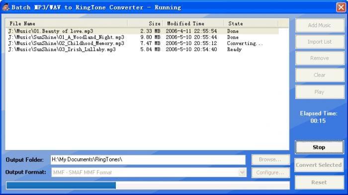 MP3 to Ringtone Master