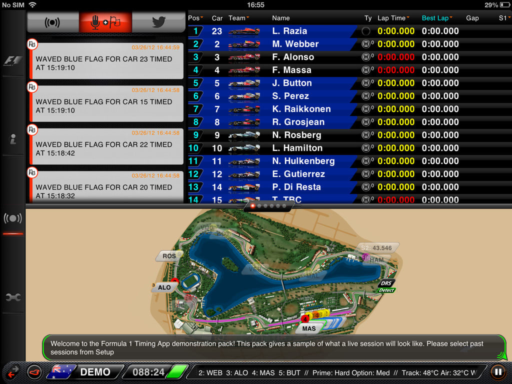 F1 2013 Timing App CP
