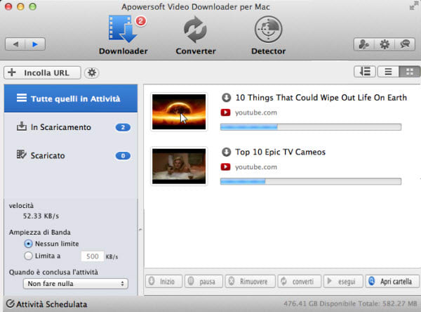Apowersoft Video Downloader per Mac
