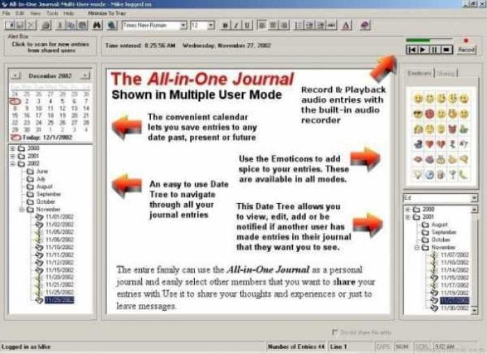 All-in-One Journal