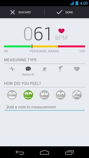 Runtastic Heart Rate