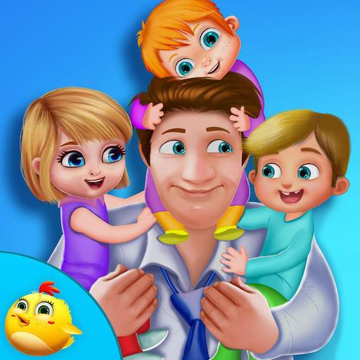 Baby Emma Happy Fathers Day