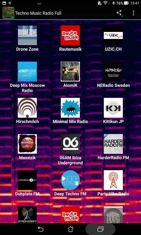 Techno Music Radio Full