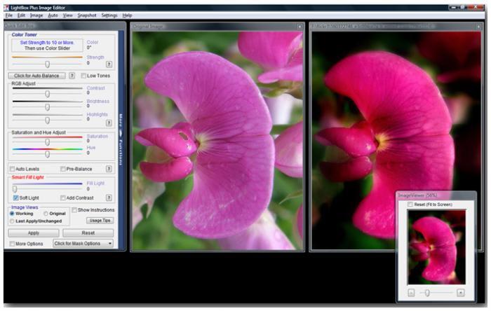 LightBox Free Image Editor
