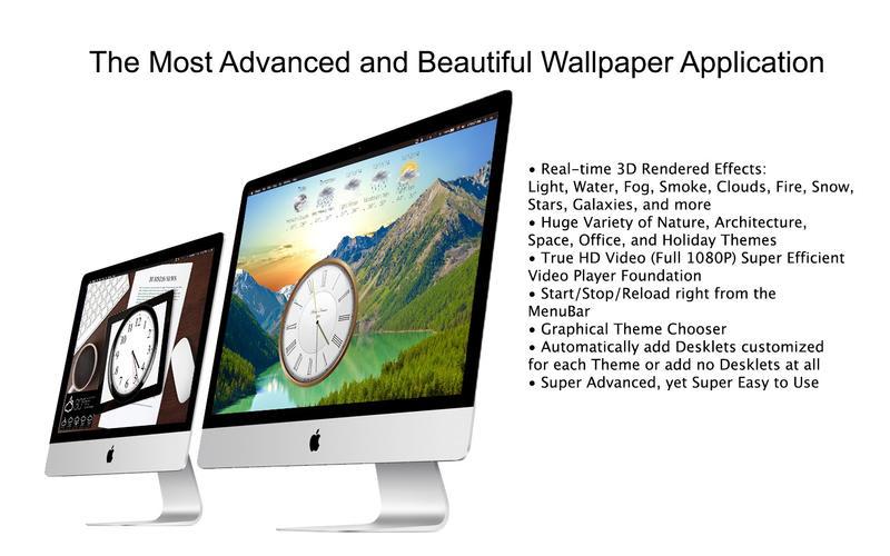 Mach Desktop Free - HD Dynamic Motion Wallpaper