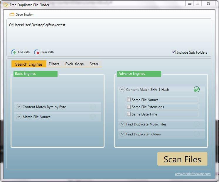 Free Duplicate File Finder