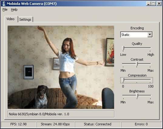 Mobiola Web Camera