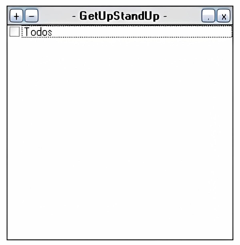 GetUpStandUp