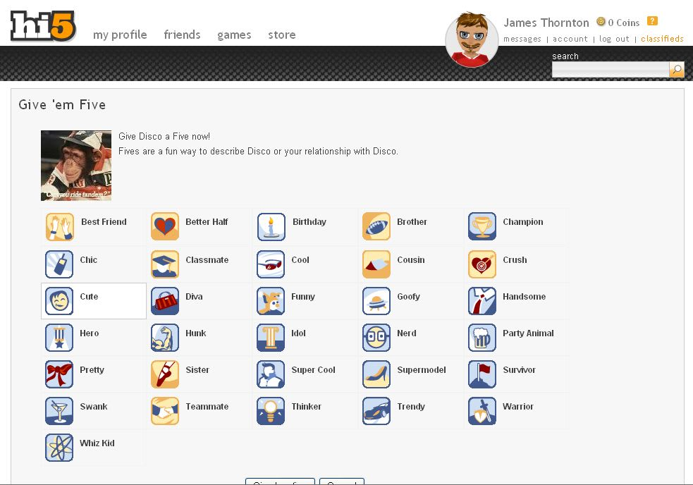 hi5 chatting online Desde el chat hi5 tendras la oportunidad de conocer muchos amigos.