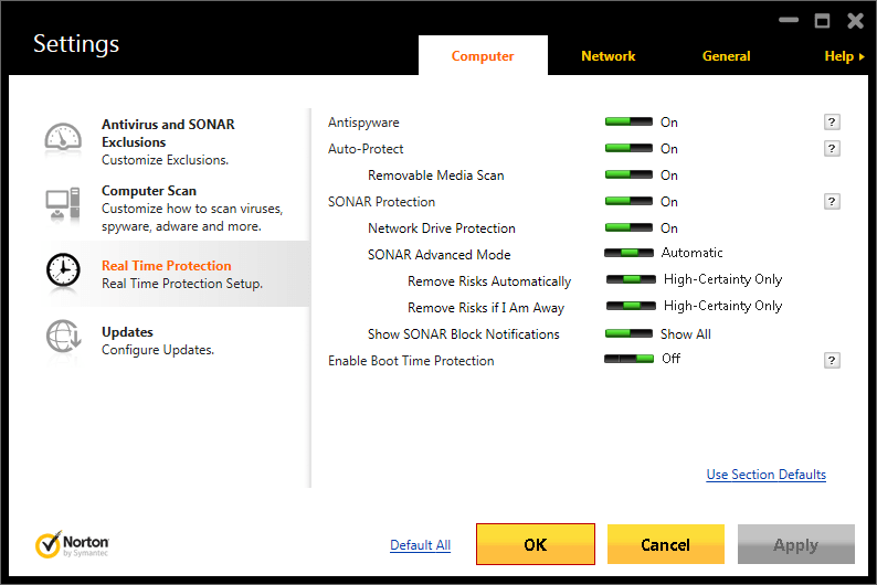 Symantec Endpoint Protection (free version) download for PC