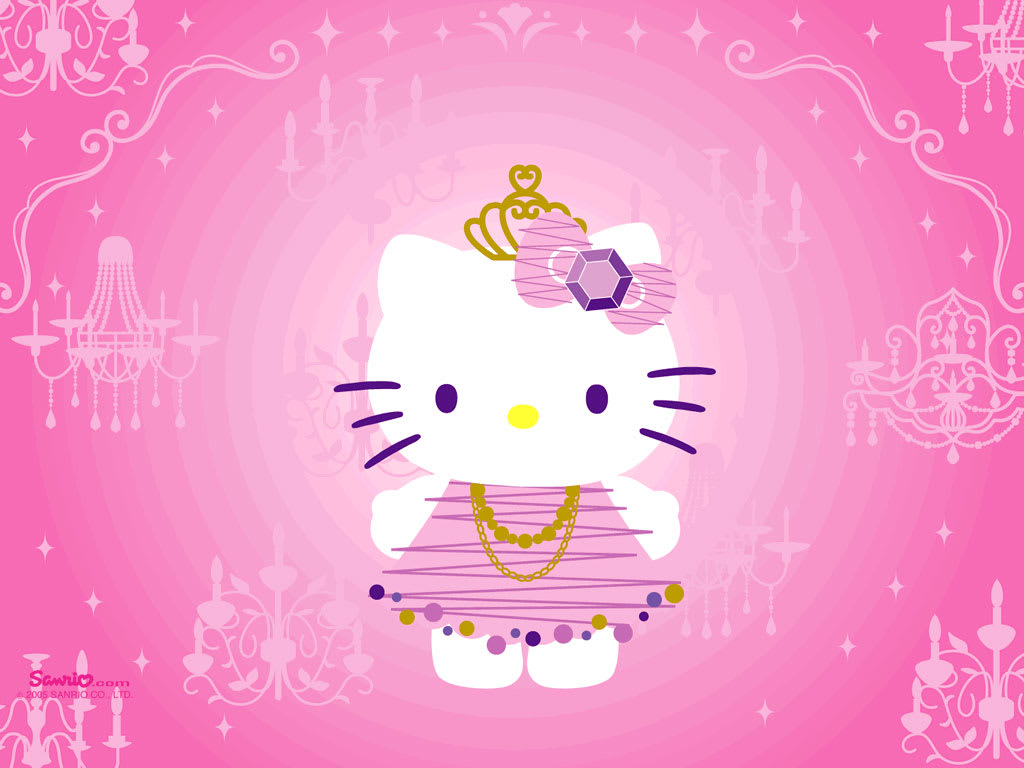 Fondo de pantalla Hello Kitty
