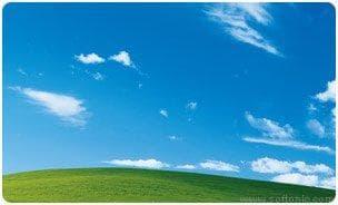 Windows XP Bliss Screen Saver