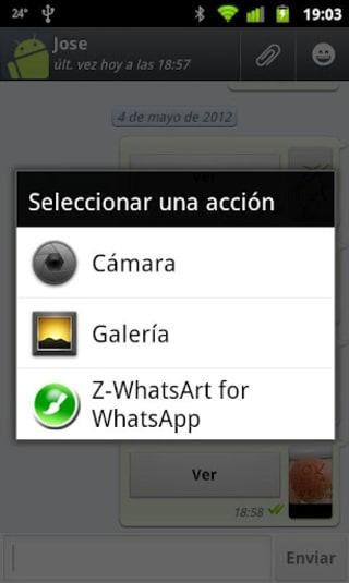 Z-WhatsArt for WhatsApp