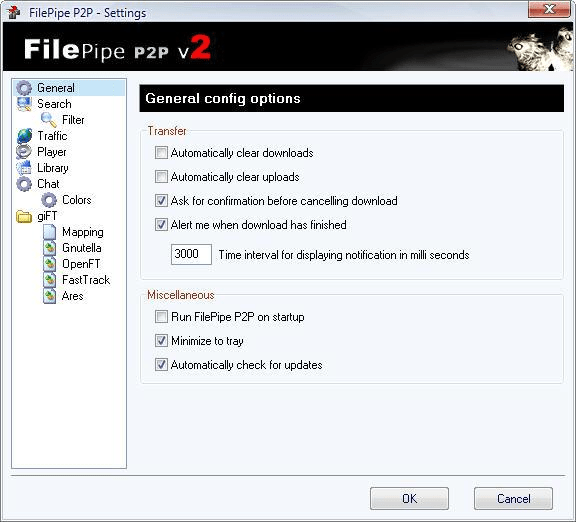 FilePipe P2P